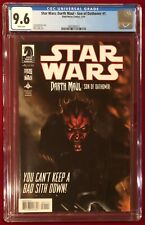 Star Wars Comic Darth Maul Son of Dathomir #1 CGC 9.6 NM+ White Pages May 2014