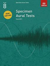 ABRSM Specimen Aural Tests Grade 8 - Same Day P+P