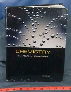 Chemistry Couverture Rigide Steven S.Zumdahl Dq