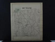 New York, Wayne County Map, 1904 Township of Butler Q3#26