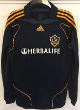 David Beckham #23 la Galaxy lejos Fútbol Balonpié Camiseta Casaca 2008 (s) Herbalife