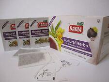 4 Boxes-Badia/Natural/Herbs/Tea/Te/para/adelgazar/dr/estreñimiento/ming/Laxante