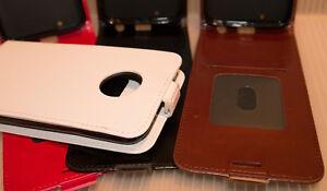 Motorola Moto G6 Vertical Flip Leather Case