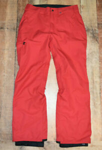 686 Snowboard Pants Mens Small Red Authentic Collection Infidry Thermal 4 EUC