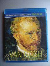 VAN GOGH A BRUSH WITH GENIUS IMAX BLU RAY REGION A B C EN ESPAÑOL & English new