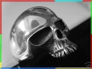 James Hetfield skull ring sterling silver 925 Metallica