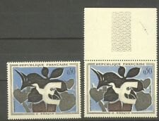 "FRANCE STAMP TIMBRE N° 1319 "" MESSAGER DE BRAQUE, 2 COULEURS "" NEUFS xx TTB"