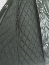 Vintage Kmart Ladies Black Miss Vinyl Nylon Jacket - Size 12