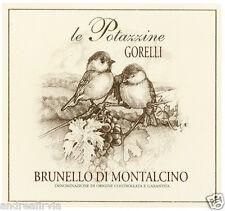6 bottiglie BRUNELLO DI MONTALCINO DOCG 2011 LE POTAZZINE - Gorelli