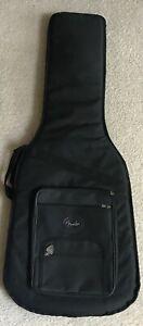 Fender® Deluxe Padded Electric Guitar Carry Case Gig Bag Backpack Black