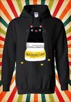 Cute Cat Kitten Antidepressant Funny Men Women Unisex Top Hoodie Sweatshirt 1365