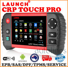 LAUNCH CRP TOUCH PRO OBD2 Fault Code Reader Reset Diagnostic Scan Tool AU VERSIO