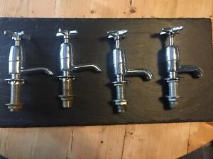 Old Chrome Taps Two Sets