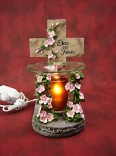 Cross Burner Wax Tart Scented Oil Candle Warmer Electric Polyresin
