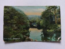 Glengariff Vintage colour postcard c1910 Proudly Bridge printed in Germany