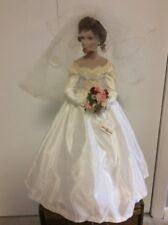 "Ashton Drake Porcelain Bride Doll ""Autumn Reflection"" by Sandra Bilotto"