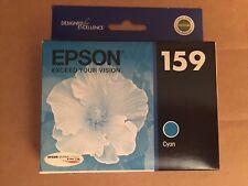 Genuine EPSON 159 Ink Cartridge Cyan T159220 Stylus Photo R2000 T159