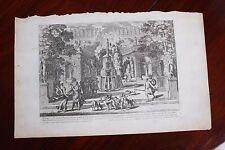 ✒ ca.1660 Jean LE PAUTRE Méléagre offrant la Hure à Atalante MYTHOLOGIE
