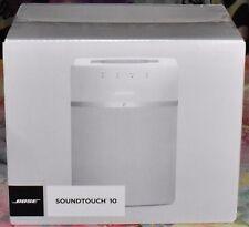 Bose SoundTouch 10 Wireless Music System Media Streamer White NEW IN BOX NIB