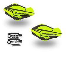 PowerMadd Sentinel Handguard Guards Kit Charcoal Hi Viz Universal ATVs Dirtbike
