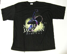 MICHAEL JACKSON HIStory World Tour 1996 PROMO Concert T-SHIRT Unused VTG XXL