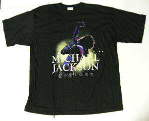MICHAEL JACKSON HIStory World Tour 1996 PROMO Concert T-SHIRT Unused VTG XXL