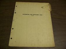 12052 John Deere Parts Catalog Pc-329 Distributor Fertilizer Side Ab20 2 53