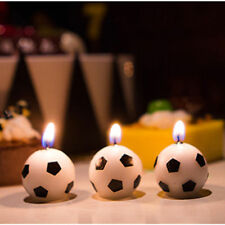 6pcs/lot Football Cup Soccer Candle Home Decoration Party Gifts for Kids Adults