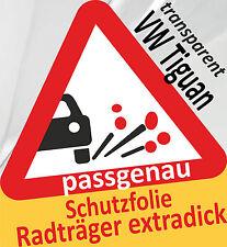 Pellicola PROTETTIVA ORIGINALE PORTABICI radträger supporto post VW TIGUAN