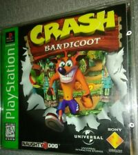 Playstation Greatest Hits Crash Bandicoot Naughty Dog Universal