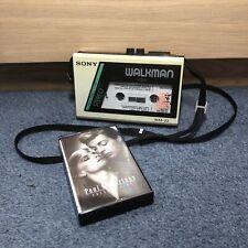RARE VINTAGE Sony Walkman WM-22 Personal Stereo Cassette Player + Shoulder Strap