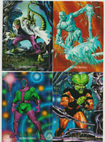 Marvel Masterpieces 1992 Trading Card Lot Iceman Lizard Leader Kang Skybox