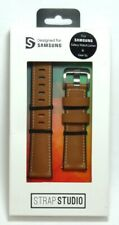Samsung Studio Leather Wrist Strap for Samsung Gear S3 Classic/Frontier - Tan
