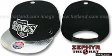 Kings 'ZENITH SNAPBACK' Black-Silver Hat by Zephyr
