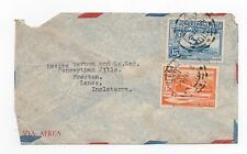 1938 PERU Air Mail Cover LIMA To PRESTON LANCS GB