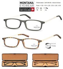 Occhiale da Lettura / Reading Glasses Montana MR53A con Astuccio Ultrasottili