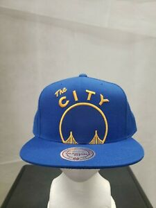 NWS Golden State Warriors Mitchell&Ness Snapback Hat NBA
