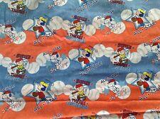 Peanuts Summer Games Baseball Fabric Snoopy Charlie Brown 3 Yards