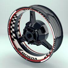 "Felgenaufkleber Motorrad  Felgenrandaufkleber Premium Wheelsticker ""GRID Honda"""