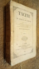Tacite traduction de Dureau de Lamalle revue et corrigée par Ferdinand Collet 2