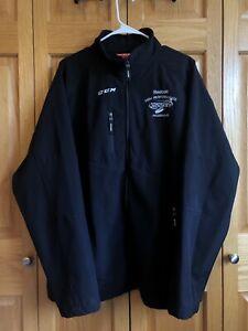Reebok Minnesota Hockey High Performance Program XL Reebok Jacket Black Coach