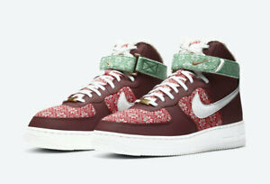 Nike Air Force 1 High '07 Nordic Christmas (2020) DC1620 600 Men's Sizes