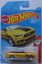 2018 Hot Wheels MUSCLE MANIA 2/10 2015 Ford Mustang GT Convertible 168/365