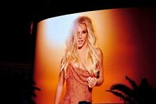 More details for britney spears neon show poster las vegas united states america usa photograph