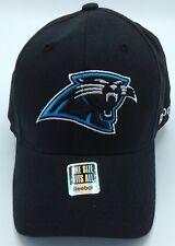 NFL Carolina Panthers Reebok Adult Structured Stretch Fit Curved Brim Cap  NEW! aa62a4b25