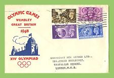 Olympics Great Britain George VI Stamp Covers (1936-1952)