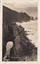 Coastal View & Sea Cave, LAND'S END, Cornwall RP - Hawke RP