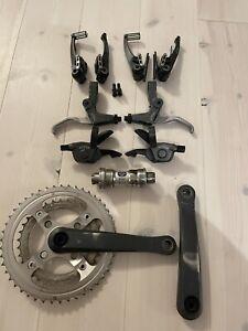 Shimano XTR M950 V-brakes Crankset Etc