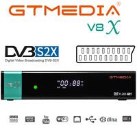 V8X Decoder Ricevitore HD Satellitare Ricevitore,Lettore di schede Tivusat,WIFI