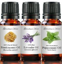 Essential & Carrier Oils - 100% Pure - Create a set - 5 items - 5 mL  Only $12!